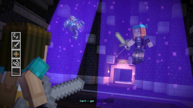 minecraft story mode episode 1 puzzle