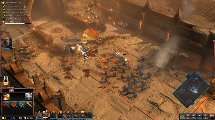 Proper unit placement is crucial. - Mission 1 - The Defense of Varlock Keep - Campaign � walkthrough - Warhammer 40,000: Dawn of War III Game Guide