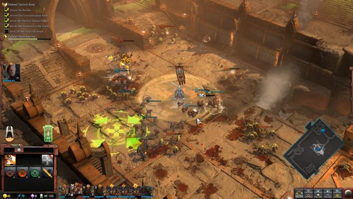 Plant the Standard ability will unlock at the end of the mission. - Mission 1 - The Defense of Varlock Keep - Campaign � walkthrough - Warhammer 40,000: Dawn of War III Game Guide