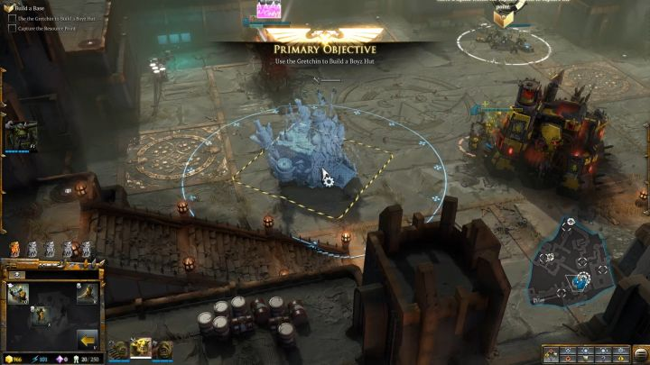 Its time to build your own base! - Mission 2 - Destined for Greater Fings - Campaign � walkthrough - Warhammer 40,000: Dawn of War III Game Guide