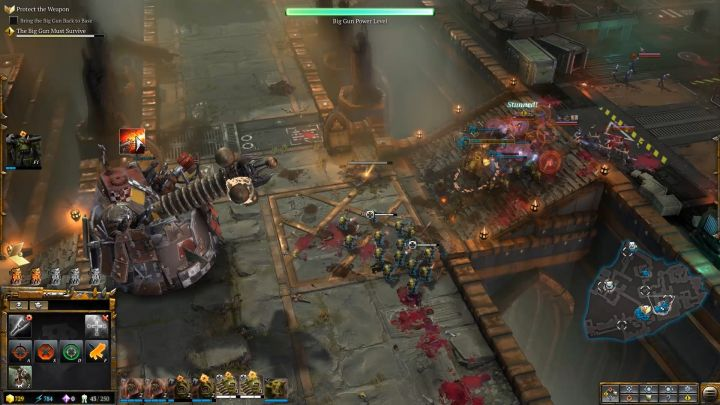 Subsequent attempts will allow you to move the cannon back to the base. - Mission 2 - Destined for Greater Fings - Campaign � walkthrough - Warhammer 40,000: Dawn of War III Game Guide