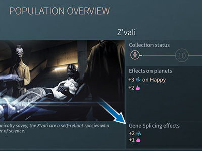 In time, The Horatio can acquire the bonuses of other factions thanks to Gene Splicing. - What race should I choose? | Races - Races - Endless Space 2 Game Guide