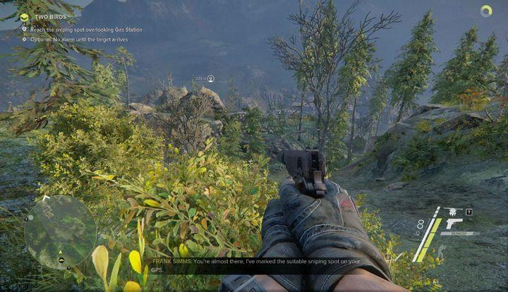 Once you begin the mission, you will have to reach the hideout presented on your mini map - Two Birds | Act 1 | Walkthrough - Act 1 - Sniper: Ghost Warrior 3 Game Guide