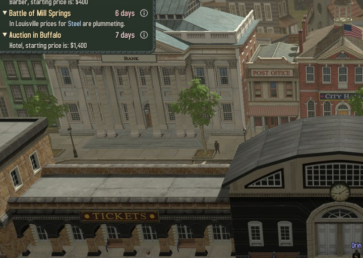 The final part of the mission is to vist New Yorks bank - Michael Reed | Walkthrough - Walkthrough - Bounty Train Game Guide