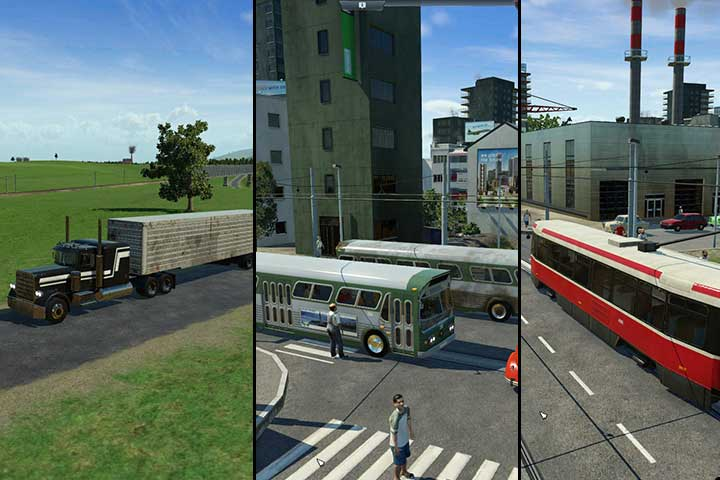 A particularly useful mean of transport, primarily for short distances, given time it also gains advantages on longer routes - Transport types - Tips and Playthrough description - Transport Fever Game Guide