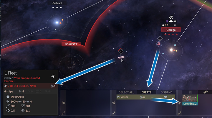 Each ship is worth a certain amount of Command Points and a fleet can only hold a limited number of Command Points. All ships that you build are placed in hangars and you can store a lot of them. However, they dont participate in battles. - Command Points and hangars in Endless Space 2 - Fleet and Army - Endless Space 2 Game Guide