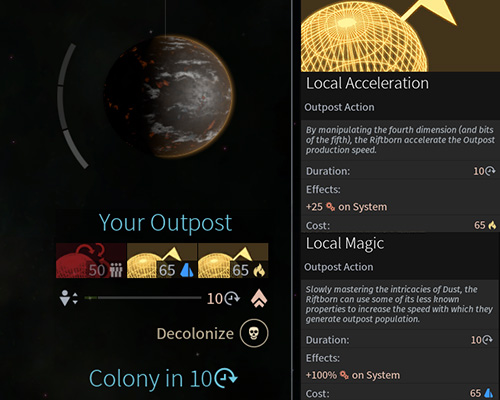 Way of colonization - Riftborn Race in Endless Space 2 - Races - Endless Space 2 Game Guide