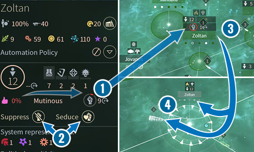 Approval status - Mutinous - FIDSI and Approval in Endless Space 2 - Gameplay basics - Endless Space 2 Game Guide