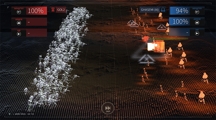 A ground battle is similar to those that take place in space - Armies and ground battles in Endless Space 2 - Fleet and Army - Endless Space 2 Game Guide