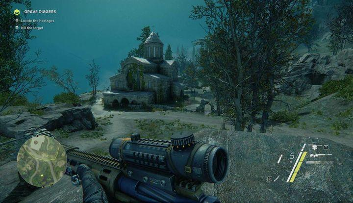 Just like in case of your previous mission, you will have to go back to your hideout and use the laptop to gain access to this task - Grave Diggers | Act 1 | Walkthrough - Act 1 - Sniper: Ghost Warrior 3 Game Guide