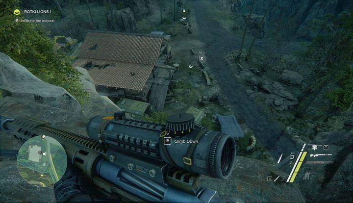 Rotki Lions I will be available once you complete your main mission Blockout - Rotki Lions I and II | Side-Ops | Walkthrough - Act 1 - Sniper: Ghost Warrior 3 Game Guide