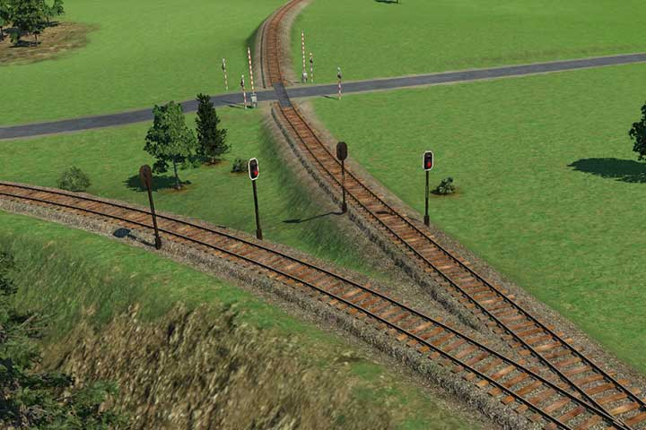 Use signals, just like in the case of right-hand road traffic - Making advanced railway systems - Tips and Playthrough description - Transport Fever Game Guide