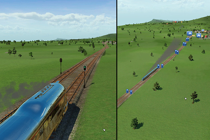 A double track railway - Making advanced railway systems - Tips and Playthrough description - Transport Fever Game Guide