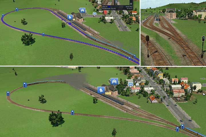 Larger stations with an entry and an exit point - Making advanced railway systems - Tips and Playthrough description - Transport Fever Game Guide
