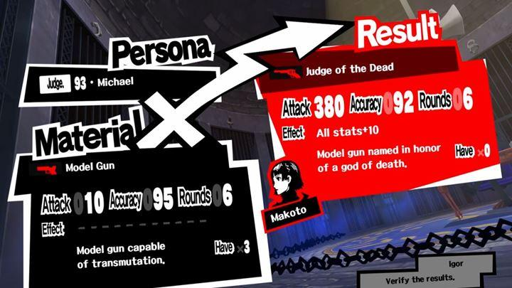 Best weapons are obtained by means of executions - Best gear in Persona 5 - FAQ - Persona 5 Game Guide