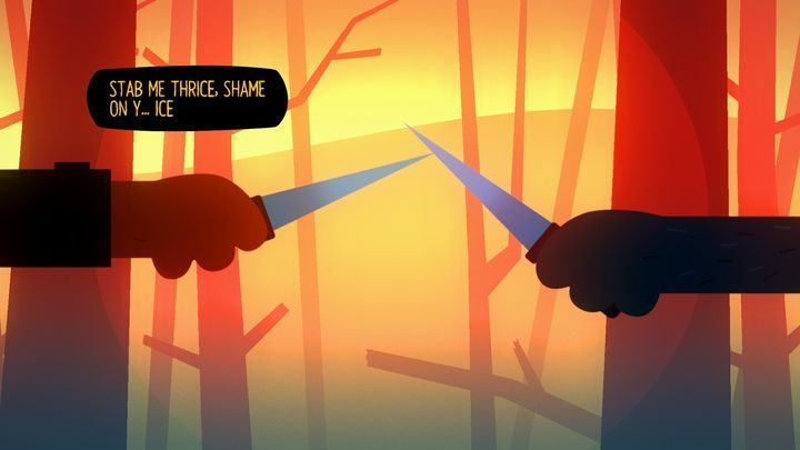 If you go with Gregg, you will have to knife-fight. - Chapter 2 | Walkthrough - Walkthrough - Night in the Woods Game Guide
