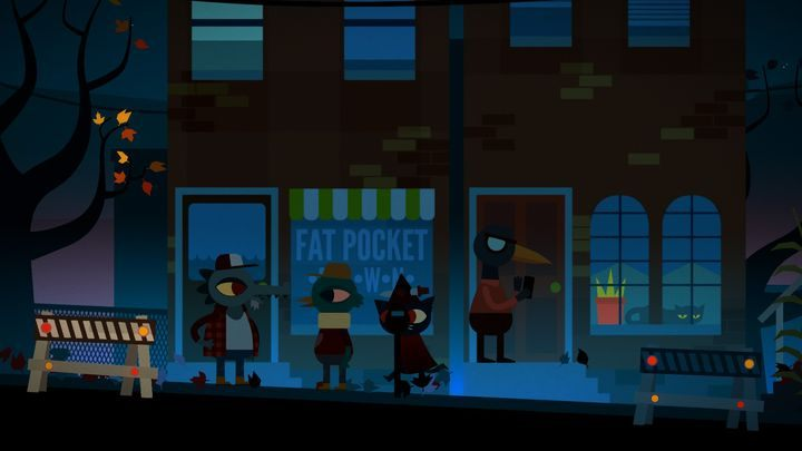 For Halloween, Mae will dress up like a witch. - Chapter 2 | Walkthrough - Walkthrough - Night in the Woods Game Guide