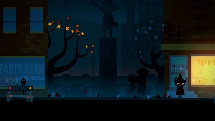 The scene of Halloween murder. - Chapter 2 | Walkthrough - Walkthrough - Night in the Woods Game Guide