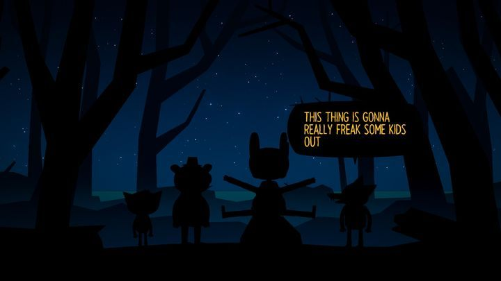 Playing in the woods. - Chapter 3 | Walkthrough - Walkthrough - Night in the Woods Game Guide