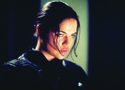 Michelle Rodriguez in Resident Evil (2002)